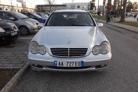 Mercedes-Benz, C-Class, 2002, Nafte