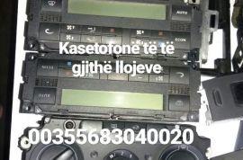 Kasetofonë të të gjithë llojeve - Tel, SMS, Whatsa