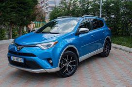 Toyota, RAV4, 2016, Benzinë + Gas
