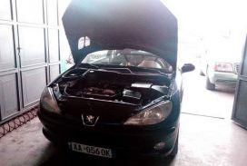 Peugeot, 206, 2002, Benzine + Gas