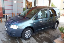 Volkswagen, Caddy, 2009, Benzinë + Gas