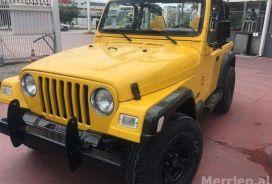 Jeep, Wrangler, 1997, Benzinë + Gas