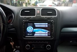 Navigator 8inch Touchscreen DVD-VW Golf Passat etj