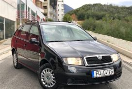 Skoda, Fabia, 2007, Benzinë