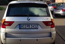 BMW, X3, 2004, Naftë
