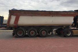Scania+trailer vetshkarkues+trailer mushama, Scania, 2000
